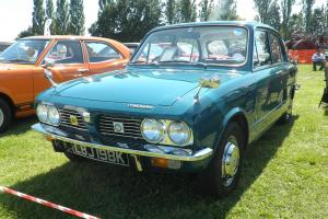 TRIUMPH 1500 BLUE  Photo
