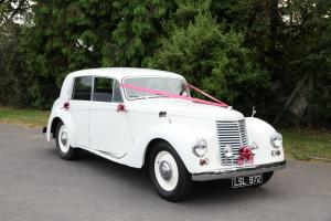1953 Armstrong Siddley Whittley White WEDDING Car