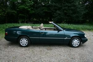 MERCEDES E320 SPORTLINE CABRIOLET 96/P ONLY 1 PREVIOUS OWNER