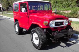 1977 Toyota Landcruiser FJ40, CA Clean Title, NEAR PERFECT RESTORE!