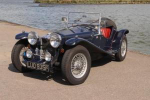 Vincent MPH Riley Cars inspired kitcar Morgan self build classic car veteran