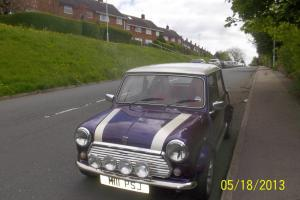 1996 ROVER MINI SPRITE A MAUVE/PURPLE