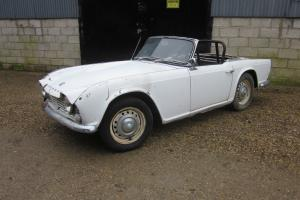 Triumph Tr4 LHD Overdrive Car FOR Restoration L