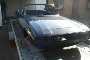 TRIUMPH STAG AUTO BLUE  Photo