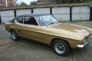 FORD CAPRI 1600 GT XLR GOLD