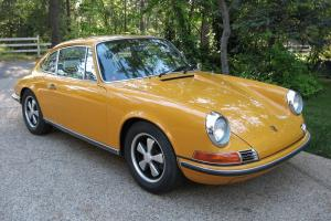1969 Porsche 911S Sunroof Coupe Bahama Yellow 53.5 K Orig. Garage Find