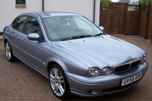 2006 56 JAGUAR X-TYPE V6 AUTO BLUE 29000 MILES IMMACULATE  Photo