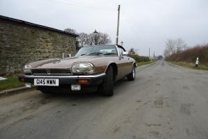 V12 JAGUAR XJ-S Convertable Auto 37K FSH Lady Owner Beautiful Example