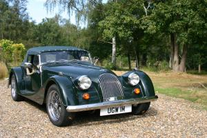 1998 Morgan Plus 8. 3.9L Rover engine. Only 13250 miles. Long door model