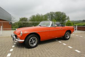 MGB-Roadster  Photo