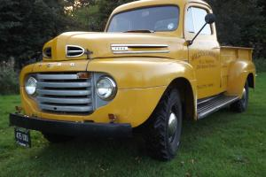 1949 FORD YELLOW