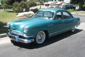 1953 Kaiser Deluxe Four Door Sedan, California Car - Great Driver...NO RESERVE!!
