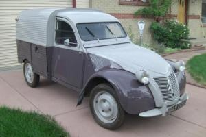 1955 Citroen 2CV AZU Truckette/Fourgonette French Classic No Renault or Peugeot