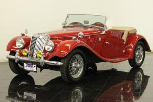 1954 MG TF Roadster Restored 1250cc 4 Cylinders Supercharged 4 Speed Wire Wheels Photo