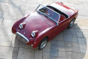 AUSTIN HEALEY SPRITE / FROGEYE SPRITE RED 1959 History from new