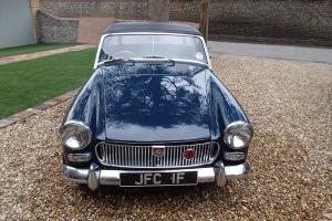 1968 MG MIDGET MK2 NAVY BLUE,BLACK SEATS, NEW HOOD, NEW MOT 2 OWNERS  Photo