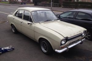 Ford Escort Mk1 4 door 1970 2.0 Pinto Twin Webers