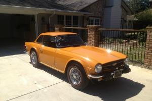 A chance to own an all original 1975 TR6