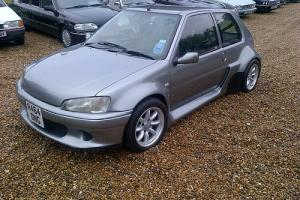 Peugeot 106 2.2 Mid engined wide body GTI