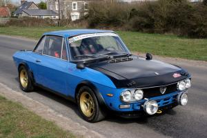 1972 LANCIA FULVIA MONTECARLO GR.4 Prepared Rally/Race Car with HTP Papers