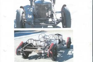 Vintage Race car Project Schumacher Special.1929 Packard - CadillacV8 Engine