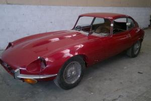 Jaguar E-Type project  Photo