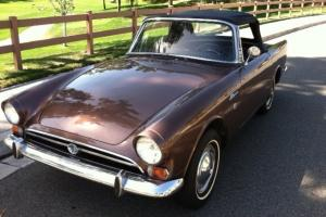 1967 Sunbeam Alpine Series 5 Roadster  Nice Survivor