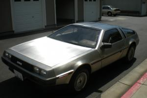 DELOREAN DMC-12 1981-LOW MILES