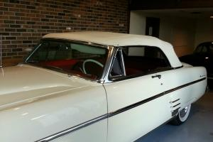 1954  Mercury Convertible  White with Red Leather  ---NICE CAR--- REDUCED