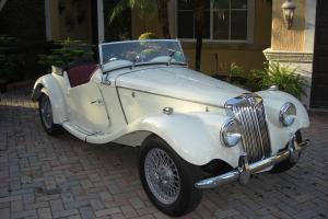 1954 MG TF Restored Florida Car Clean Title 1.3L