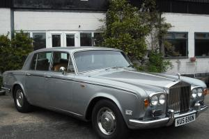 Rolls Royce bentley Shadow 1974 flared wheel arch, last owner for 30 years