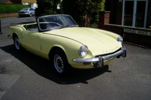 1968 TRIUMPH SPITFIRE MK 3  Photo