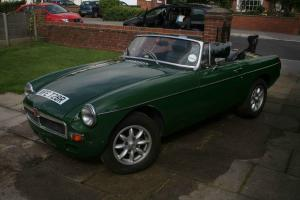 1977 MG B Roadster - Brooklands Green
