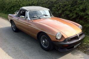 MGB LE ROADSTER 1982 47,000 MILES (SALE DUE TO LOSS OF GARAGE)  Photo