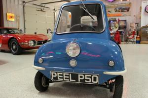 1963 Peel P50 replica and Vintage Pav trailer