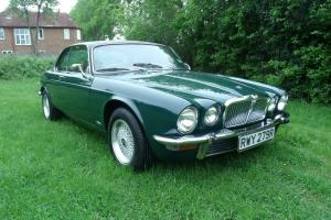 JAGUAR XJ 4.2 COUPE AUTO GREEN 1976