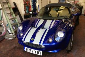 2001 LOTUS ELISE 111S BLUE - very low mileage