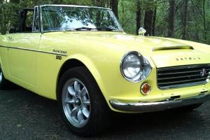 67.5 Datsun 1600 updated with KA24/ 5-speed