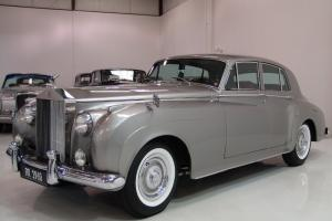1960 ROLLS-ROYCE SILVER CLOUD II, LEFT HAND DRIVE, ONLY 38,000 ORIGINAL MILES!