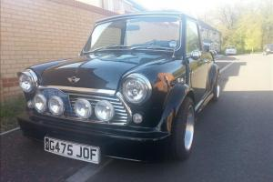 1990 ROVER MINI MAYFAIR BLACK MODIFIED  Photo