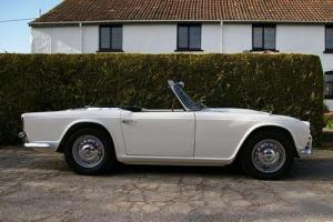 1962 Triumph TR4 Police Car  Photo