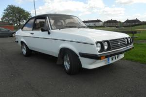 1980 V Reg Ford Escort RS 200 2.0  Photo