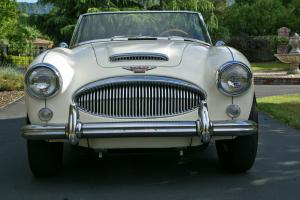 austin healey 3000 MKII  White eBay Motors #321130273005 Photo