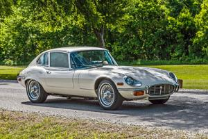 1971 Jaguar XKE V12 4 speed, SO3 concours, low miles alloy flywheel, chrome ww