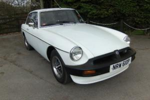 1976 MGB GT in White  Photo