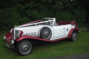 BEAUFORD TOURER CONVERTIBLE, MERCEDES BENZ 6 DOOR LIMOUSINE AND JAGUAR SALOON