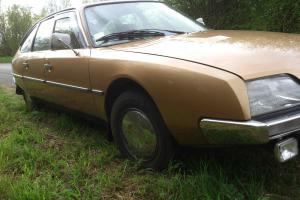 Famous and rare early Citroen CX 1975 in immaculate condition