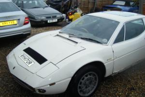 1977 MASERATI MERAK SS FOR SPARES OR RESTOTATION. ENGINE MISSING.