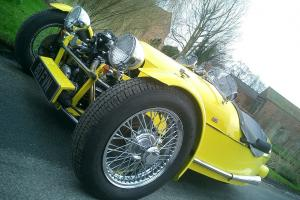 RETRO, SUPER COOL MORGAN INSPIRED THREE WHEELER BY JZR  Photo