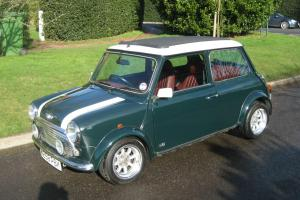 2000 ROVER MINI JOHN COOPER GREEN/WHITE  Photo